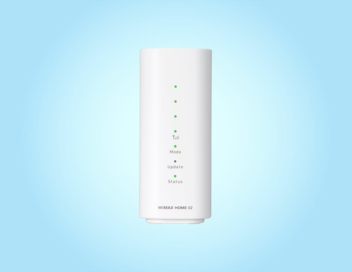 カシモWiMAX「WiMAX HOME 02」